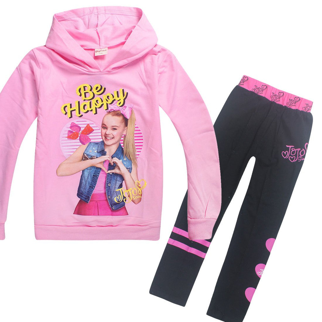 Trendy Pint Pullover and Pants Set For Kids Girls