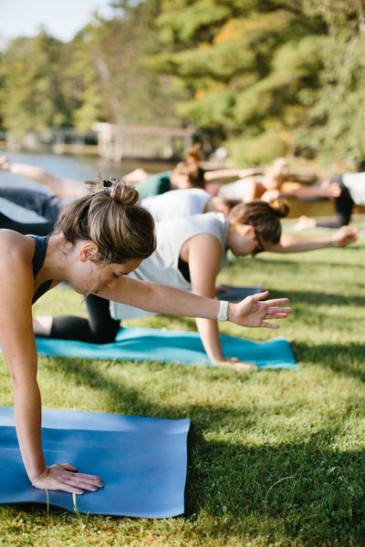 lakeside yoga at alderwood resort