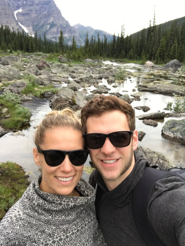 banff national park selfie