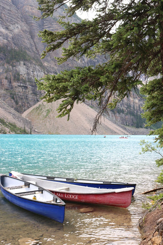 moraine lake lodge canoe rental