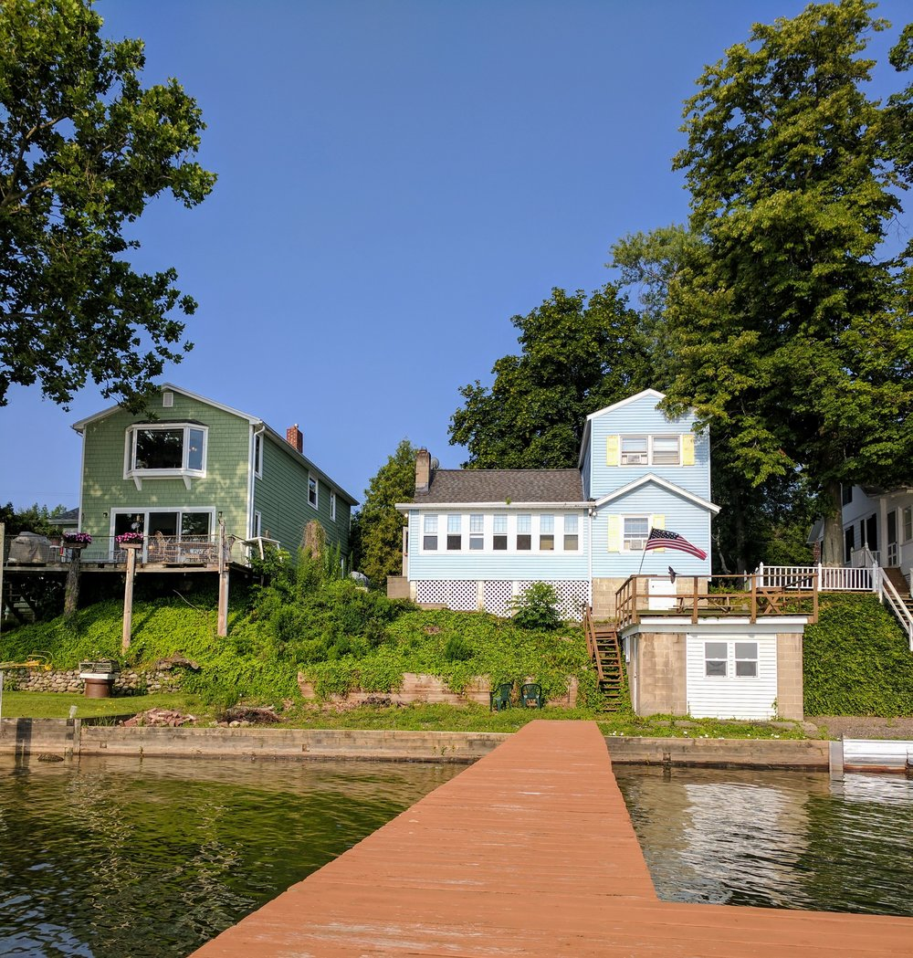 lake house in seneca new york