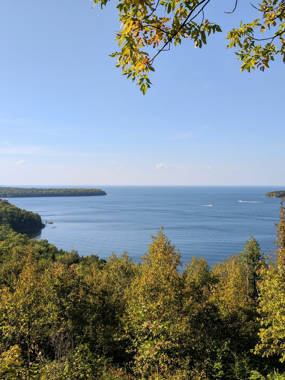 peninsula state park overlook