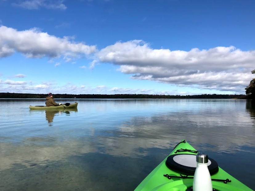 wisconsin lake kayak adventure