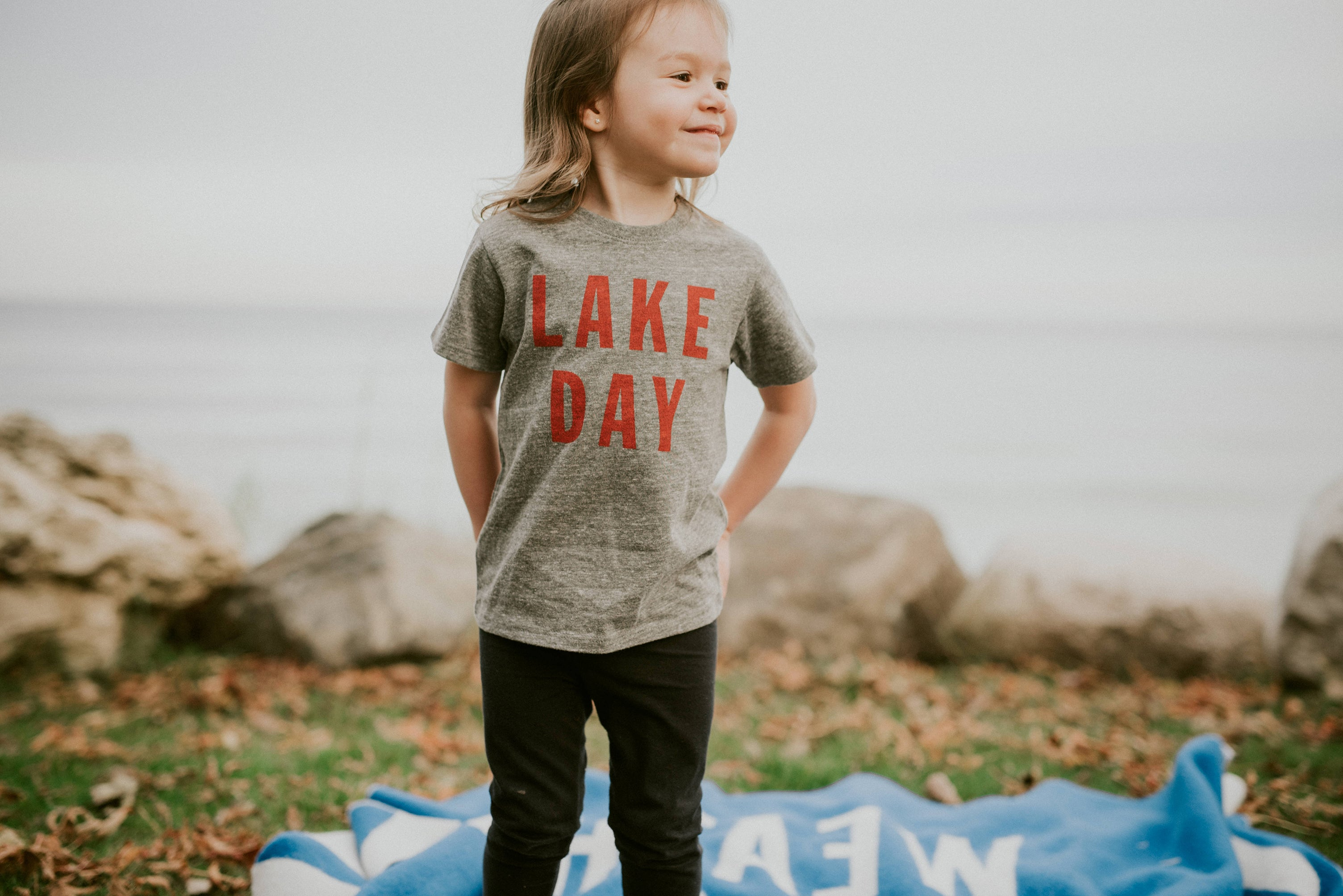 lake day cranberry youth kids t shirt