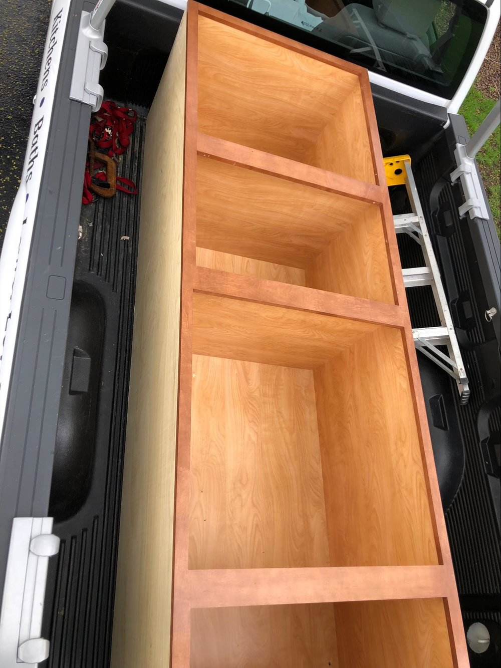 custom shelving for sprinter van conversion
