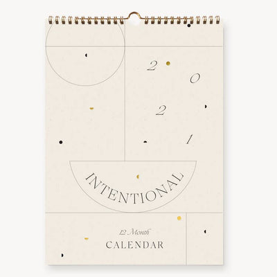 Wilde House Paper | 2021 Intentional Wall Calendar