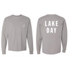LAKE DAY Pocket Long Sleeve Shirt (Gray)