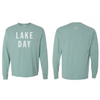LAKE DAY Long Sleeve Shirt (Cypress Green)