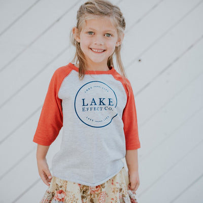 Toddler + Kids Raglan Shirt