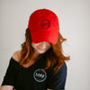 Logo Ball Cap Red