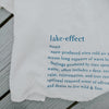 lake effect tea towel