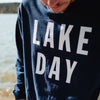 LAKE DAY Long Sleeve Shirt, Navy