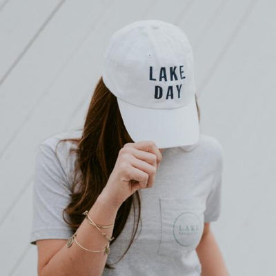 LAKE DAY Bold Ball Cap (multiple colors)