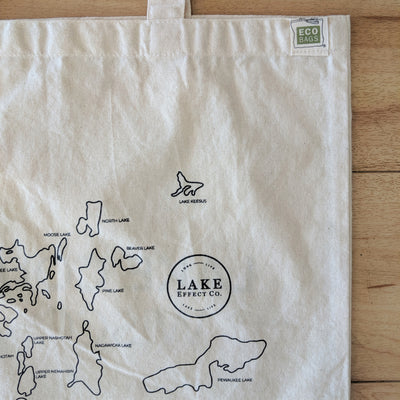 Magic in the Water & Lake Country Recycled Cotton Tote