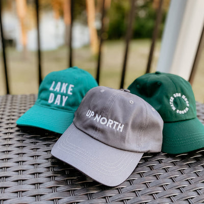 UP NORTH Ball Cap - Recycled