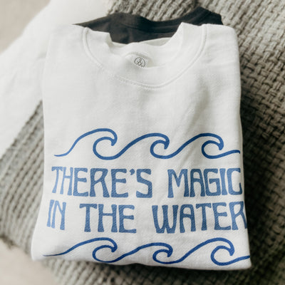Magic in the Water Ladies Crewneck | SUN KEEP x Lake Effect Co