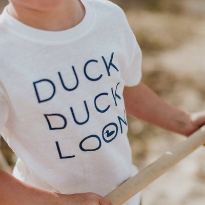 Duck Duck Loon Baby & Toddler Tee