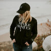 Make Waves Ladies Hoodie