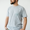 Classic Pocket T-Shirt (Navy or Gray)
