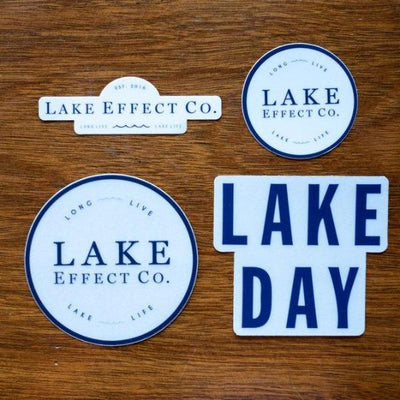 Lake Life Stickers