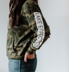 Camo Hooded Sweatshirt