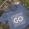 GO Lake Topography Tee Shirt - Unisex