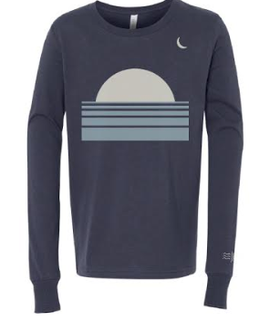 Sunset + Crescent Kids Long Sleeve
