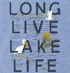 Kids Long Live Lake Life Species Tee