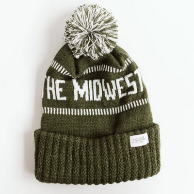 GOD BLESS THE MIDWEST Winter Knit Hat
