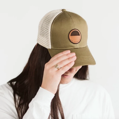 Sunset Patch Snapback