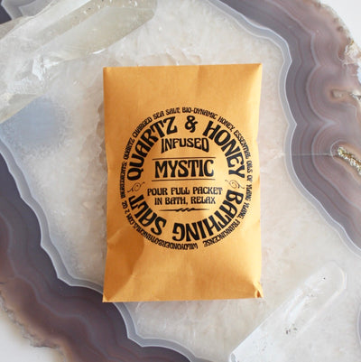 Wild Yonder Botanicals | Gem & Honey Infused Bath Salt Packets