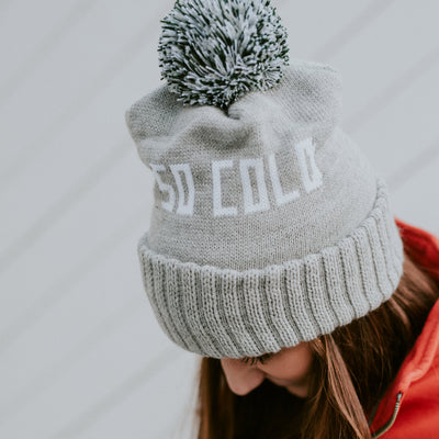 SO COLD Winter Knit Hat