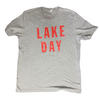 LAKE DAY Tee (Red or Navy Text)