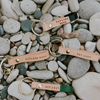 Leather Key Ring, Get Lost, Explore More