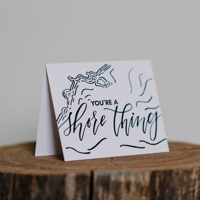 Shore Thing Greeting Card