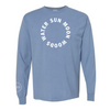 SUN MOON WOODS WATER Unisex Long Sleeve