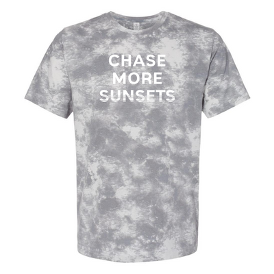 Chase More Sunsets Tie Dye Unisex Tee