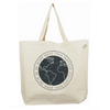 More Wave Than Particle Recycled Cotton Tote