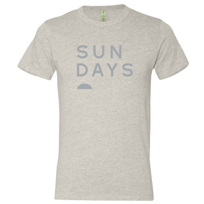 SUN DAYS Unisex Eco Heather Tee
