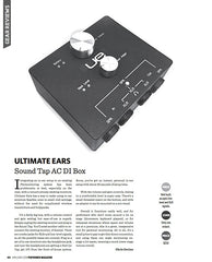 Ultimate Ears UE Sound Tap AC DI Box