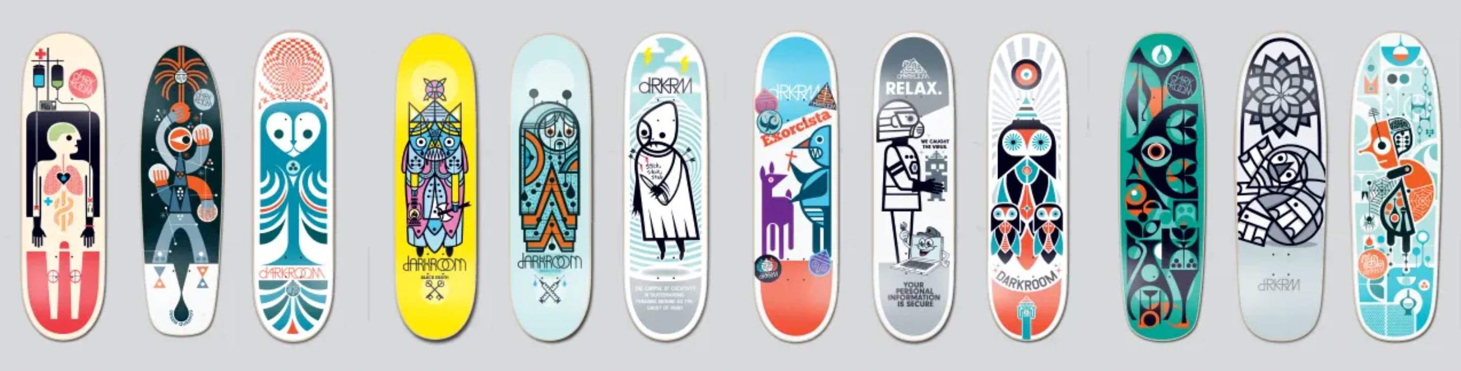 Don Pendleton skateboard decks