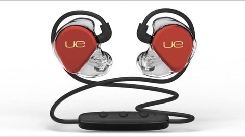 Ultimate Ears CSX Lucky Red Gold Logo