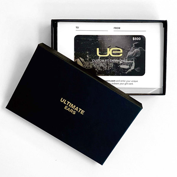 UE Physical Gift Card