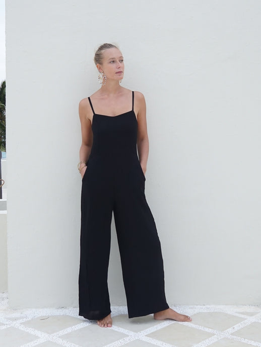 DIANE JUMPSUIT - BLACK