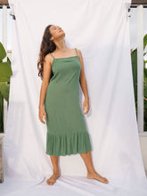 Load image into Gallery viewer, BELLUCCI DRESS - BASIL