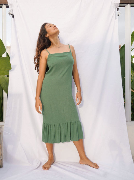BELLUCCI DRESS - BASIL