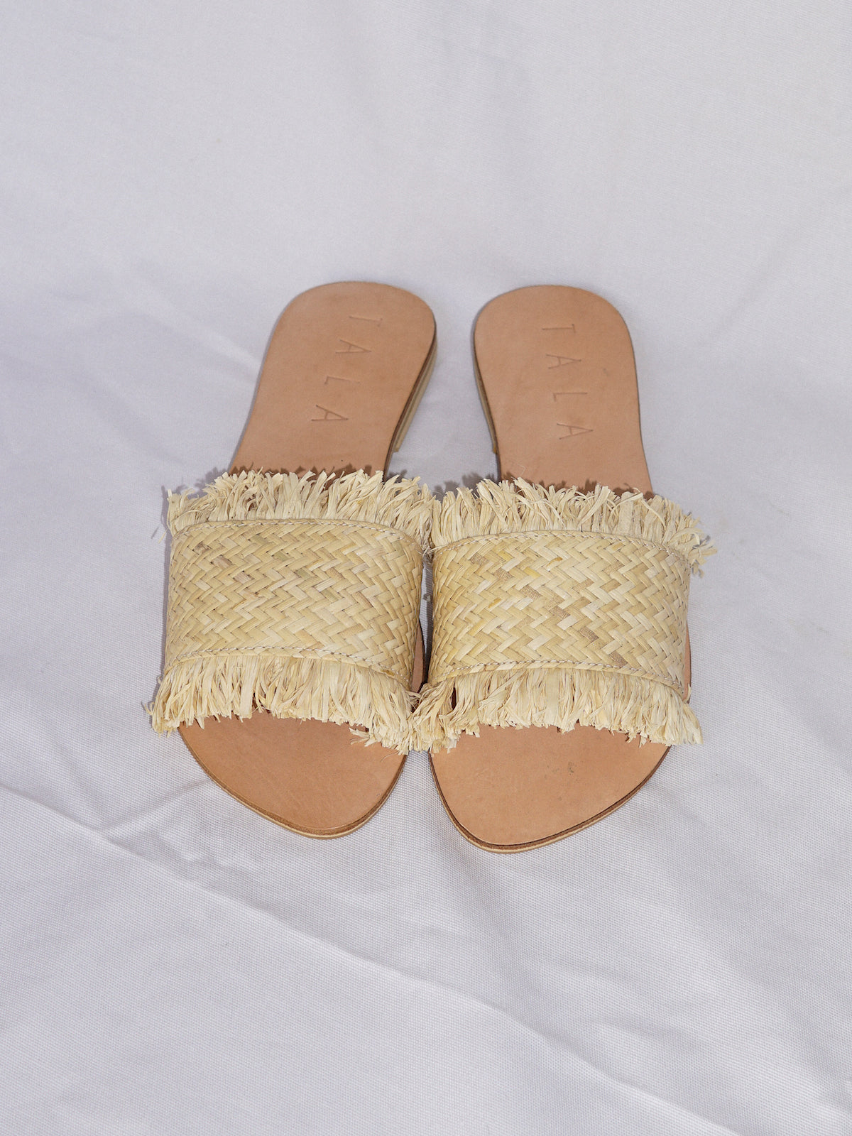 INNANA SANDALS - VANILLA