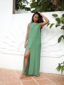 AQUILA DRESS - BASIL