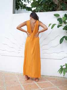 AQUILA DRESS - TANGERINE