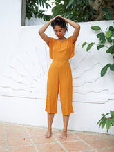 Load image into Gallery viewer, HAYWORTH JUMPSUIT - TANGERINE